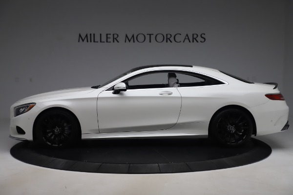Used 2015 Mercedes-Benz S-Class S 550 4MATIC for sale Sold at Bentley Greenwich in Greenwich CT 06830 3