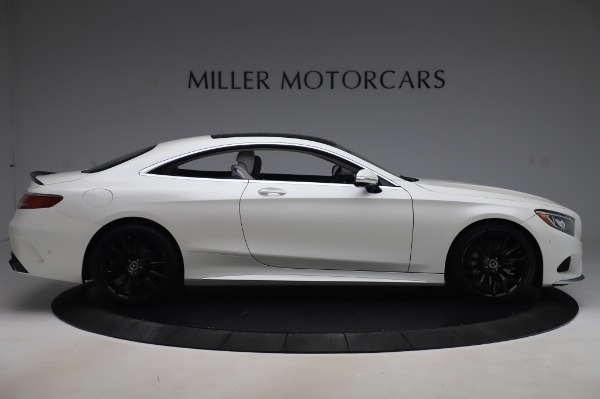 Used 2015 Mercedes-Benz S-Class S 550 4MATIC for sale Sold at Bentley Greenwich in Greenwich CT 06830 9