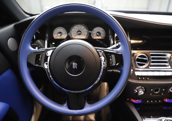 Used 2017 Rolls-Royce Wraith Black Badge for sale $269,900 at Bentley Greenwich in Greenwich CT 06830 16