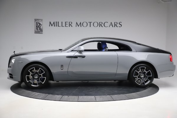 Used 2017 Rolls-Royce Wraith Black Badge for sale $269,900 at Bentley Greenwich in Greenwich CT 06830 4
