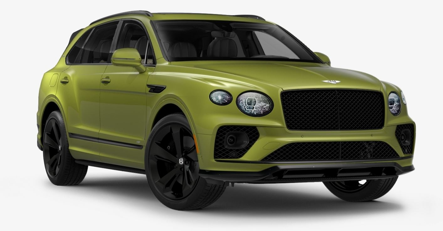 New 2021 Bentley Bentayga V8 First Edition for sale $261,710 at Bentley Greenwich in Greenwich CT 06830 1