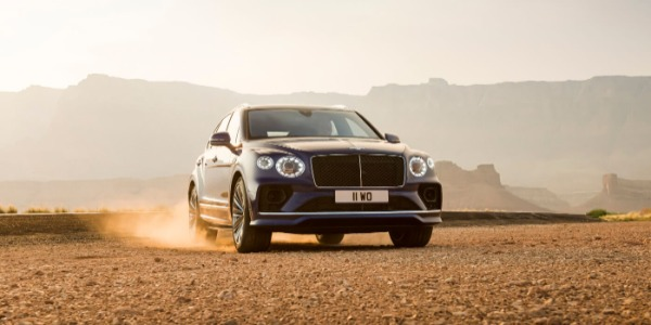 New 2021 Bentley Bentayga Speed for sale Call for price at Bentley Greenwich in Greenwich CT 06830 3