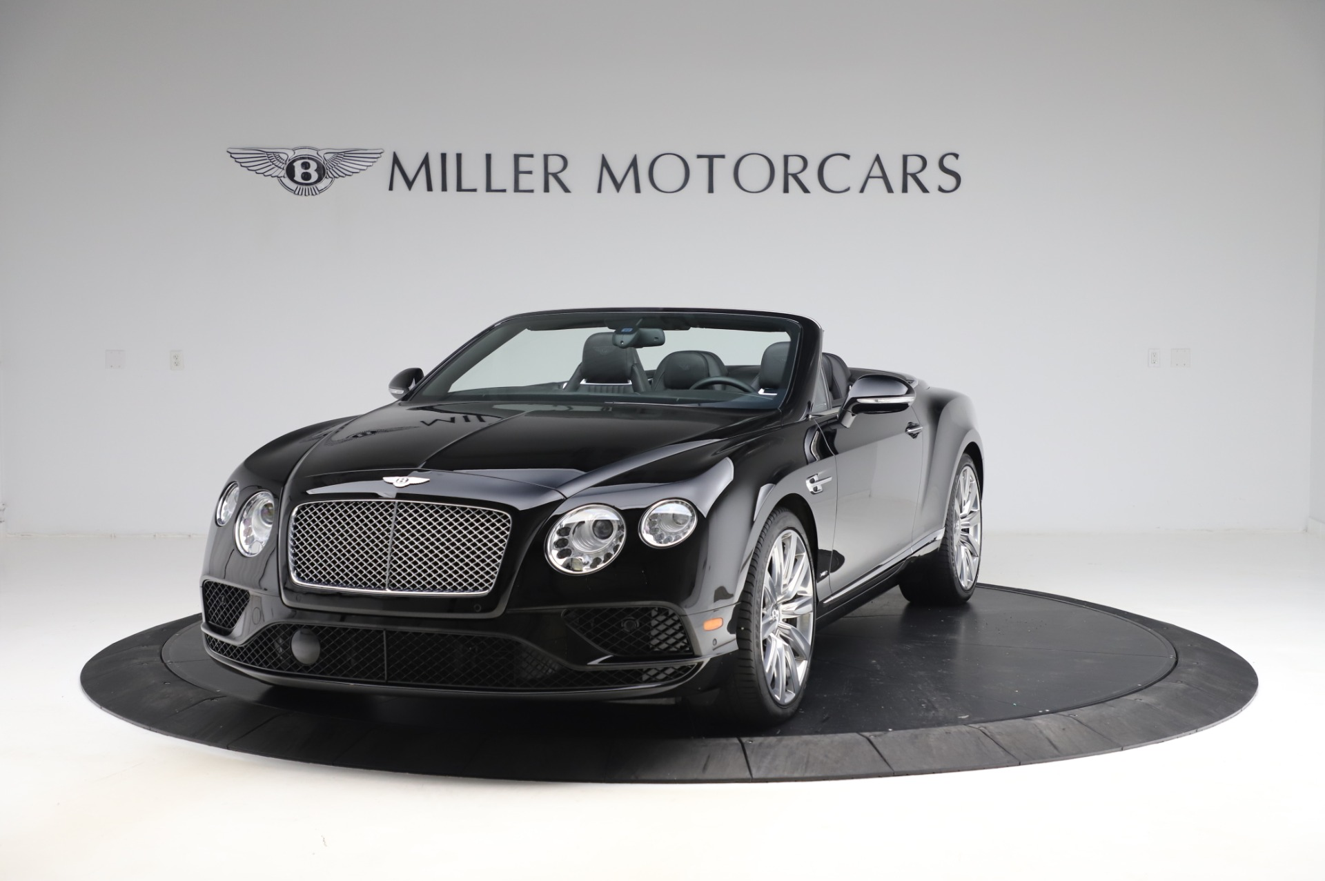 Used 2016 Bentley Continental GTC W12 for sale Sold at Bentley Greenwich in Greenwich CT 06830 1