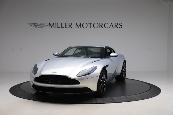 Used 2018 Aston Martin DB11 V8 Coupe for sale Sold at Bentley Greenwich in Greenwich CT 06830 12