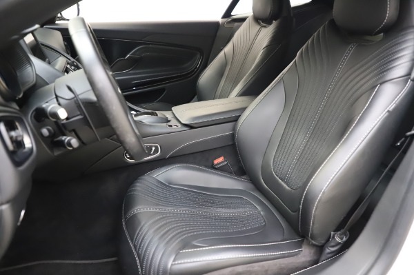 Used 2018 Aston Martin DB11 V8 Coupe for sale Sold at Bentley Greenwich in Greenwich CT 06830 15