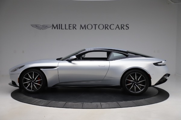 Used 2018 Aston Martin DB11 V8 Coupe for sale Sold at Bentley Greenwich in Greenwich CT 06830 2