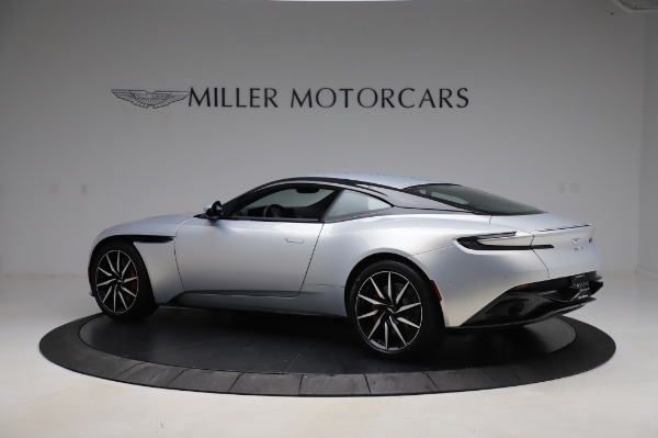 Used 2018 Aston Martin DB11 V8 Coupe for sale Sold at Bentley Greenwich in Greenwich CT 06830 3