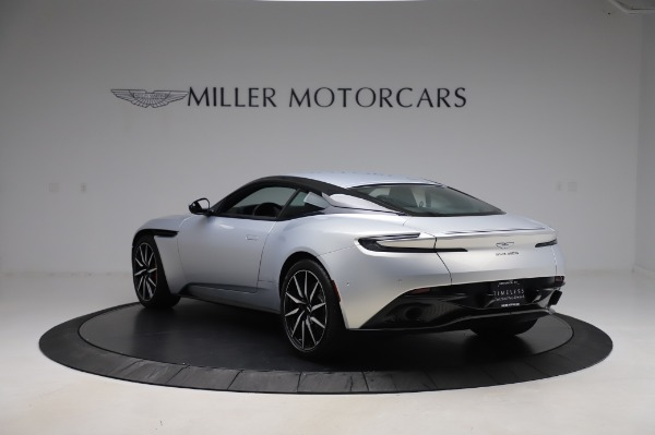 Used 2018 Aston Martin DB11 V8 Coupe for sale Sold at Bentley Greenwich in Greenwich CT 06830 4