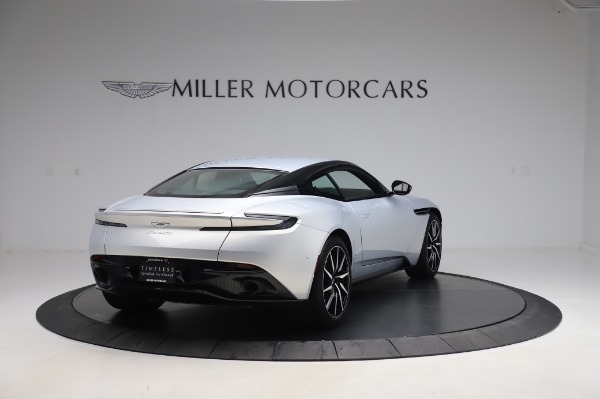 Used 2018 Aston Martin DB11 V8 Coupe for sale Sold at Bentley Greenwich in Greenwich CT 06830 6