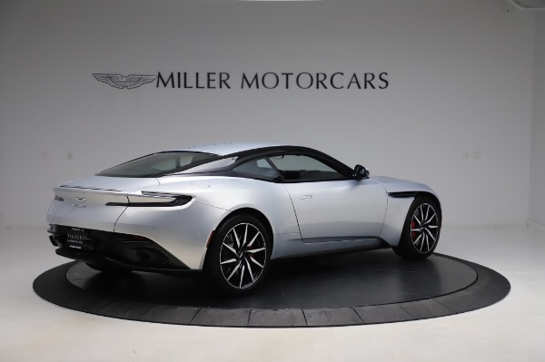 Used 2018 Aston Martin DB11 V8 Coupe for sale Sold at Bentley Greenwich in Greenwich CT 06830 7