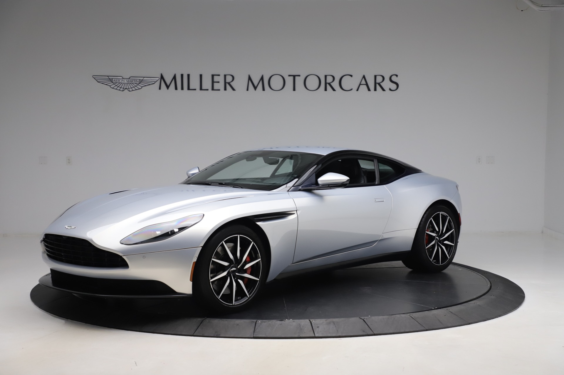 Used 2018 Aston Martin DB11 V8 Coupe for sale Sold at Bentley Greenwich in Greenwich CT 06830 1