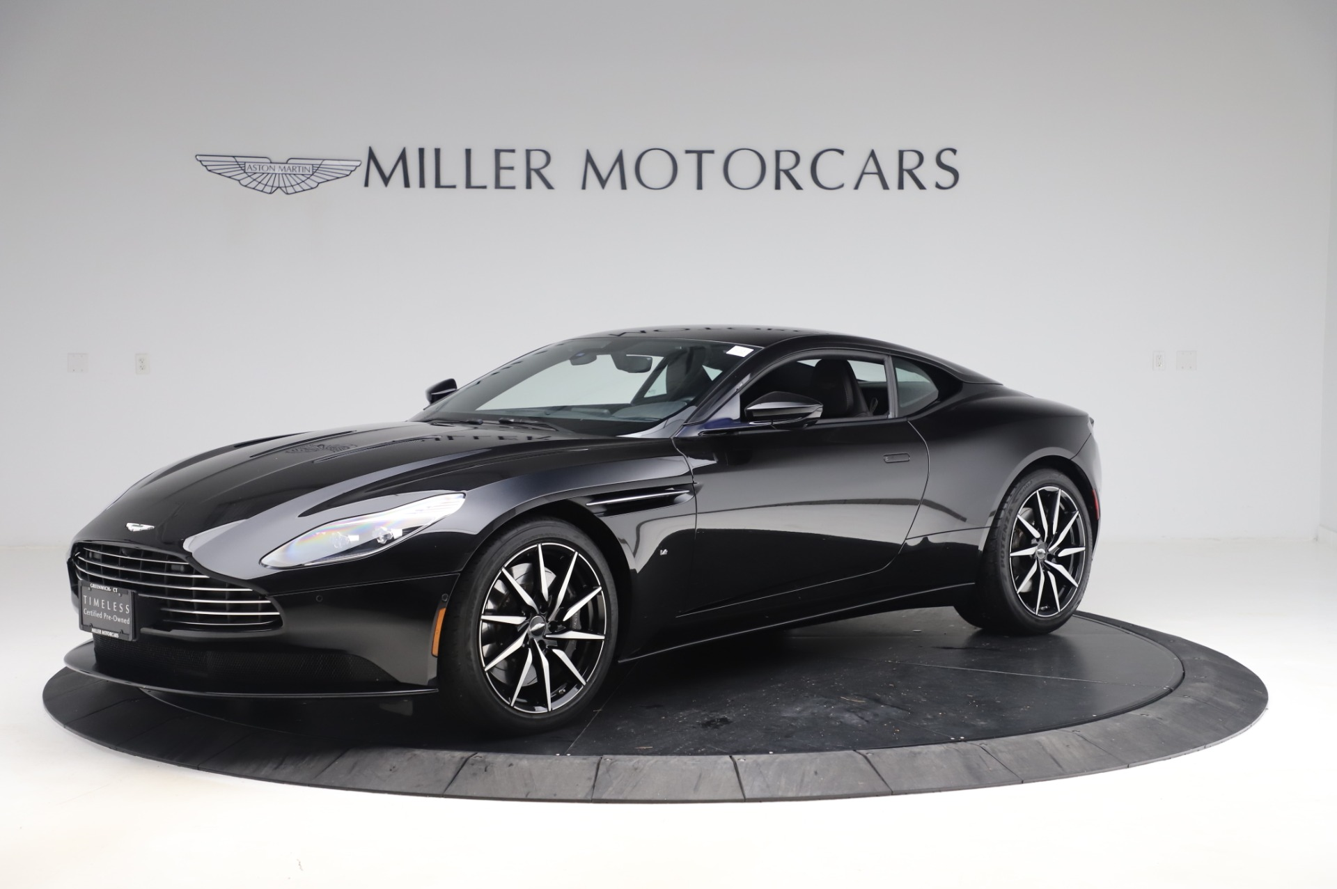 Used 2017 Aston Martin DB11 V12 Coupe for sale $145,900 at Bentley Greenwich in Greenwich CT 06830 1