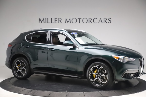 Used 2019 Alfa Romeo Stelvio Ti Lusso for sale Call for price at Bentley Greenwich in Greenwich CT 06830 10