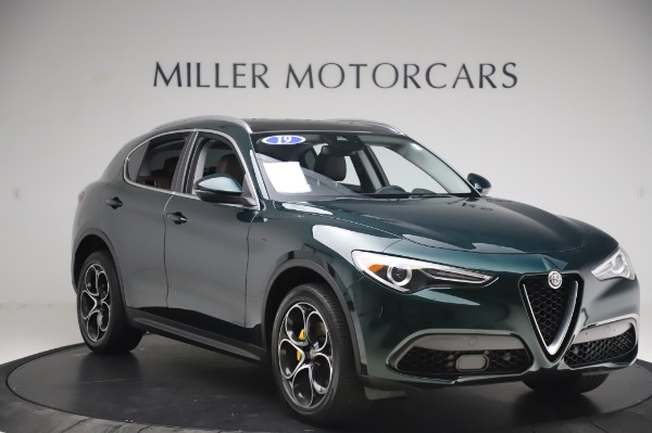 Used 2019 Alfa Romeo Stelvio Ti Lusso for sale Call for price at Bentley Greenwich in Greenwich CT 06830 11