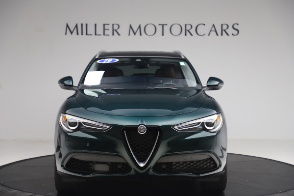 Used 2019 Alfa Romeo Stelvio Ti Lusso for sale Call for price at Bentley Greenwich in Greenwich CT 06830 12
