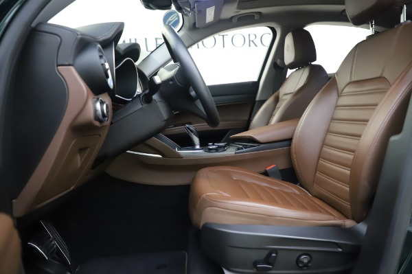 Used 2019 Alfa Romeo Stelvio Ti Lusso for sale Call for price at Bentley Greenwich in Greenwich CT 06830 14