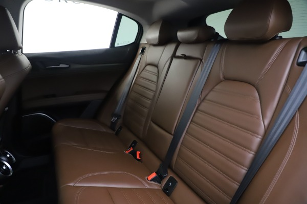 Used 2019 Alfa Romeo Stelvio Ti Lusso for sale Call for price at Bentley Greenwich in Greenwich CT 06830 18