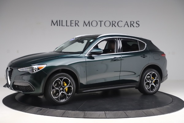 Used 2019 Alfa Romeo Stelvio Ti Lusso for sale Call for price at Bentley Greenwich in Greenwich CT 06830 2