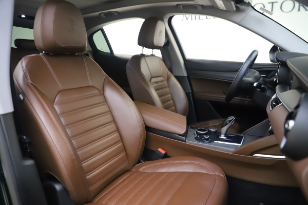 Used 2019 Alfa Romeo Stelvio Ti Lusso for sale Call for price at Bentley Greenwich in Greenwich CT 06830 22