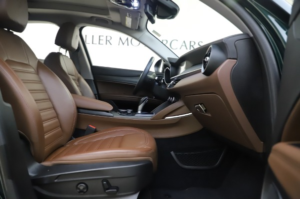 Used 2019 Alfa Romeo Stelvio Ti Lusso for sale Call for price at Bentley Greenwich in Greenwich CT 06830 23