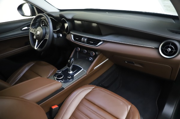 Used 2019 Alfa Romeo Stelvio Ti Lusso for sale Call for price at Bentley Greenwich in Greenwich CT 06830 24