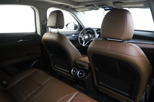 Used 2019 Alfa Romeo Stelvio Ti Lusso for sale Call for price at Bentley Greenwich in Greenwich CT 06830 28