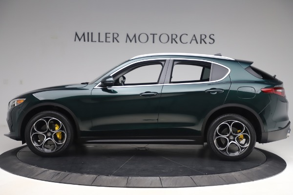 Used 2019 Alfa Romeo Stelvio Ti Lusso for sale Call for price at Bentley Greenwich in Greenwich CT 06830 3