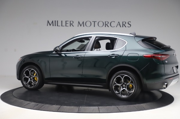 Used 2019 Alfa Romeo Stelvio Ti Lusso for sale Call for price at Bentley Greenwich in Greenwich CT 06830 4