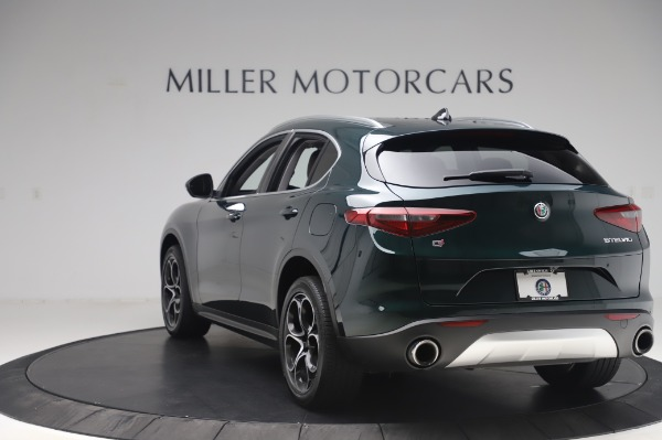 Used 2019 Alfa Romeo Stelvio Ti Lusso for sale Call for price at Bentley Greenwich in Greenwich CT 06830 5