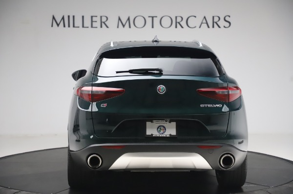 Used 2019 Alfa Romeo Stelvio Ti Lusso for sale Call for price at Bentley Greenwich in Greenwich CT 06830 6