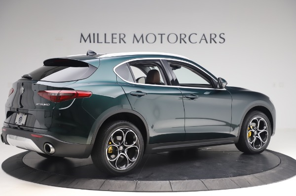 Used 2019 Alfa Romeo Stelvio Ti Lusso for sale Call for price at Bentley Greenwich in Greenwich CT 06830 7