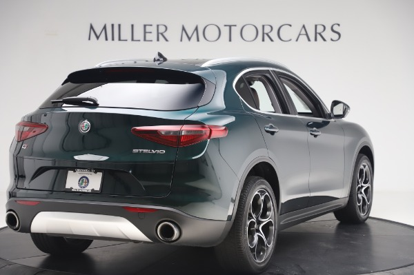 Used 2019 Alfa Romeo Stelvio Ti Lusso for sale Call for price at Bentley Greenwich in Greenwich CT 06830 8
