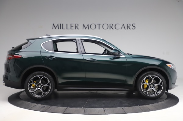 Used 2019 Alfa Romeo Stelvio Ti Lusso for sale Call for price at Bentley Greenwich in Greenwich CT 06830 9