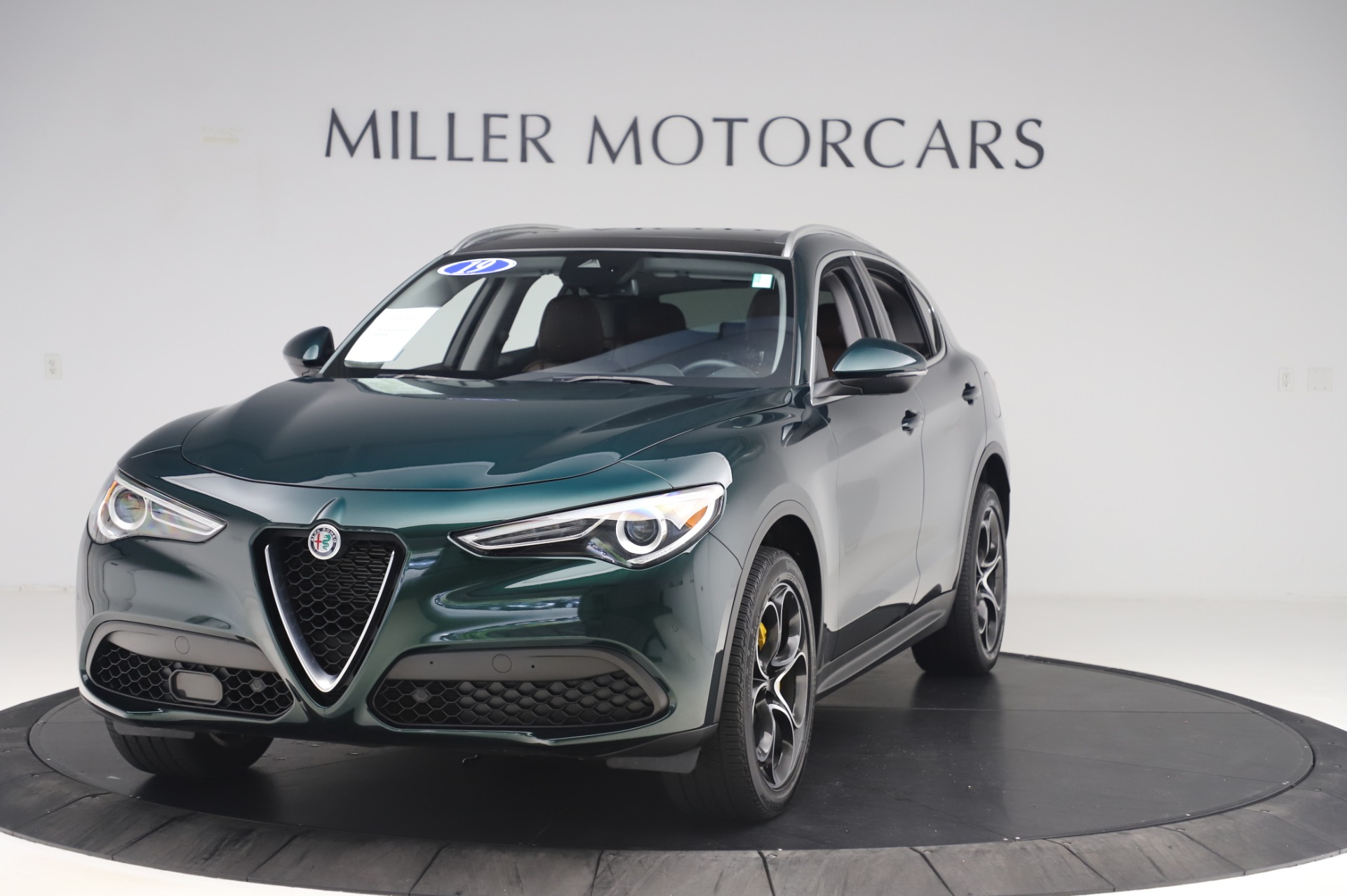 Used 2019 Alfa Romeo Stelvio Ti Lusso for sale Call for price at Bentley Greenwich in Greenwich CT 06830 1