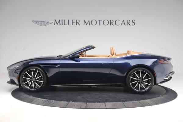 New 2020 Aston Martin DB11 Volante Volante for sale $248,326 at Bentley Greenwich in Greenwich CT 06830 2