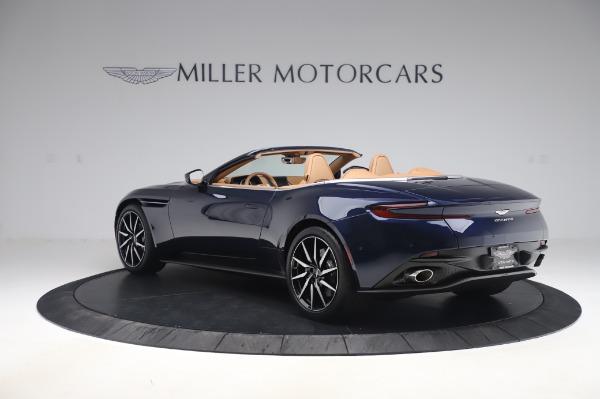 New 2020 Aston Martin DB11 Volante Volante for sale $248,326 at Bentley Greenwich in Greenwich CT 06830 4