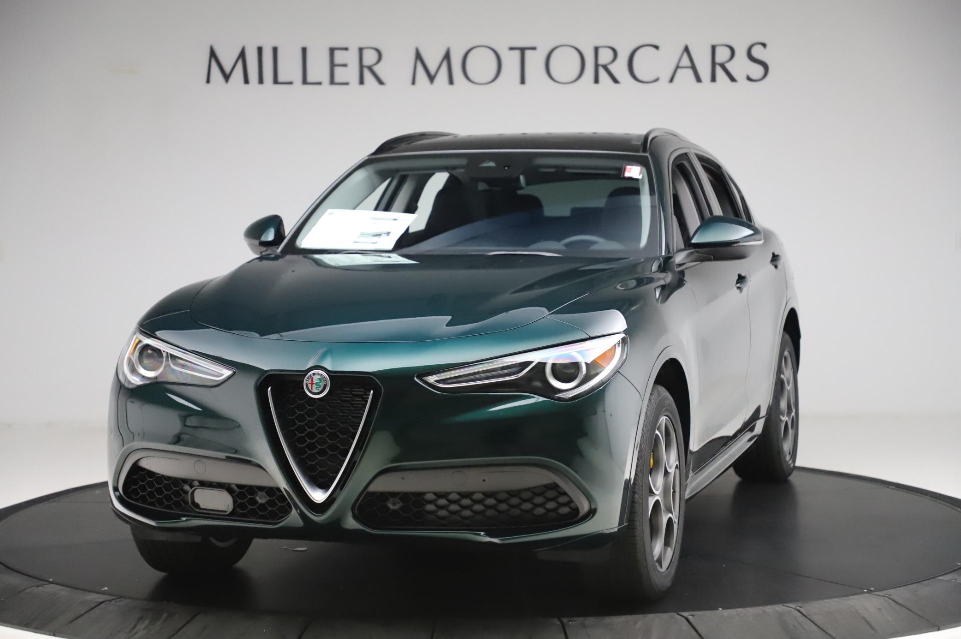 New 2020 Alfa Romeo Stelvio Sport Q4 for sale $49,995 at Bentley Greenwich in Greenwich CT 06830 1