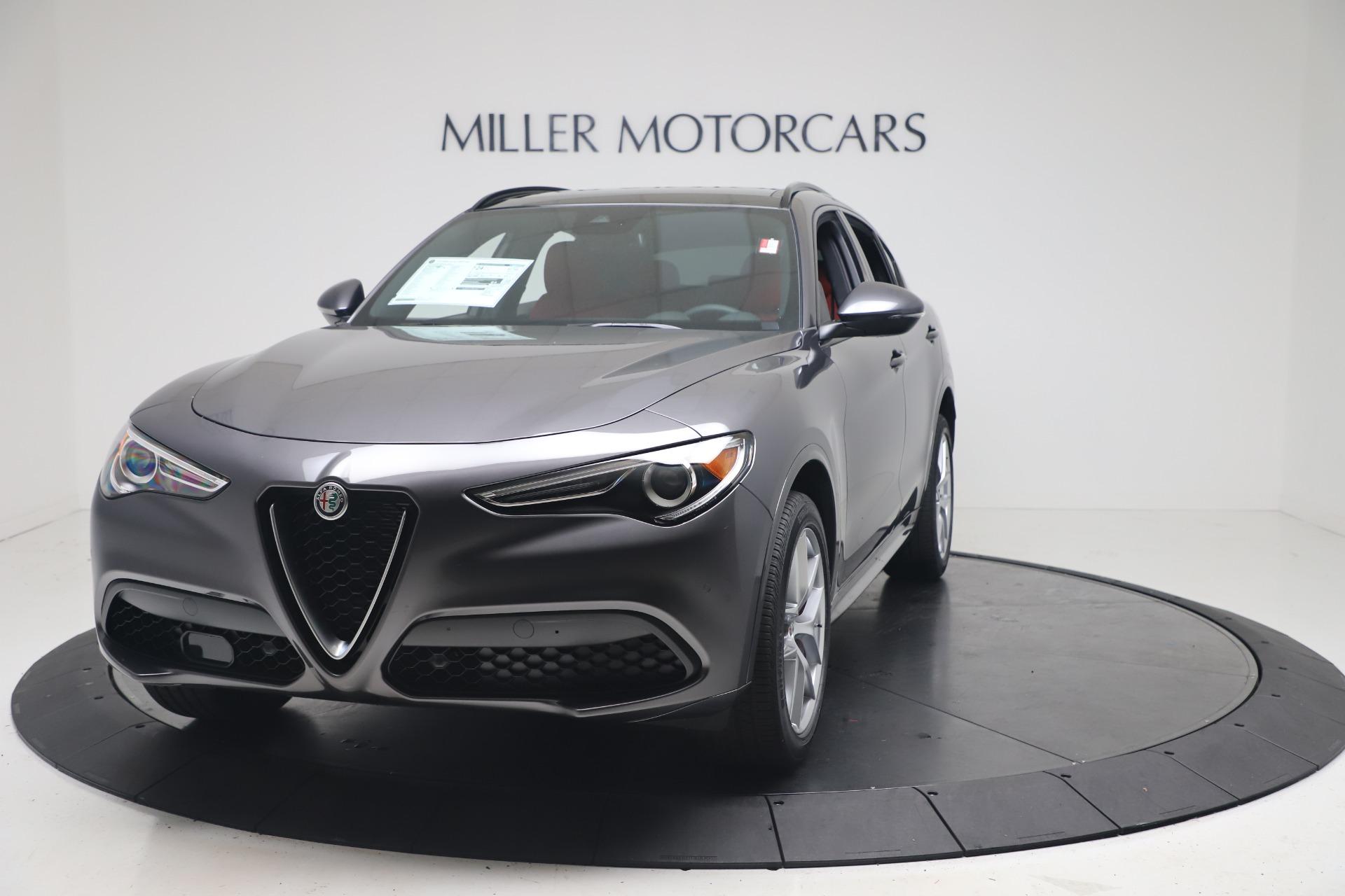 New 2020 Alfa Romeo Stelvio Ti Sport Q4 for sale $53,545 at Bentley Greenwich in Greenwich CT 06830 1