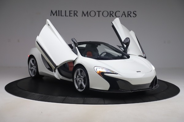 Used 2016 McLaren 650S Spider for sale $152,900 at Bentley Greenwich in Greenwich CT 06830 21