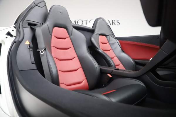 Used 2016 McLaren 650S Spider for sale $152,900 at Bentley Greenwich in Greenwich CT 06830 23