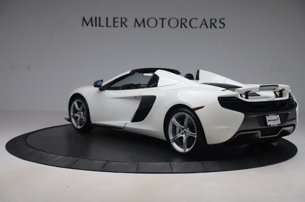 Used 2016 McLaren 650S Spider for sale $152,900 at Bentley Greenwich in Greenwich CT 06830 3