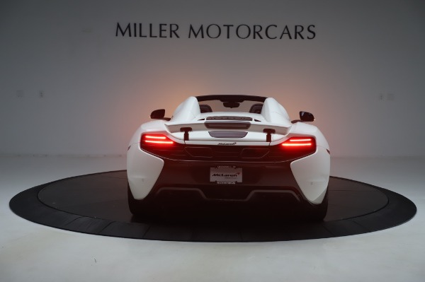 Used 2016 McLaren 650S Spider for sale $152,900 at Bentley Greenwich in Greenwich CT 06830 4