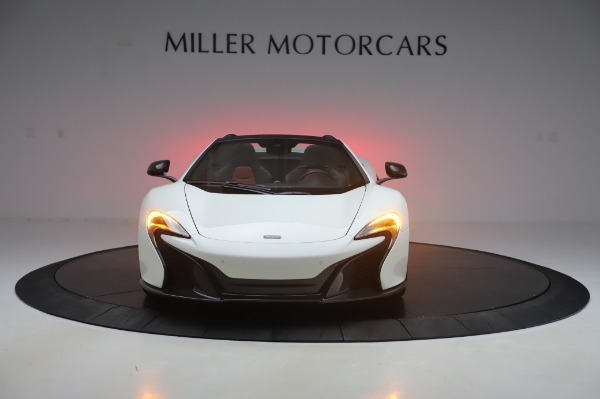 Used 2016 McLaren 650S Spider for sale $152,900 at Bentley Greenwich in Greenwich CT 06830 8
