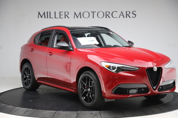 New 2020 Alfa Romeo Stelvio Sport Q4 for sale $50,195 at Bentley Greenwich in Greenwich CT 06830 11