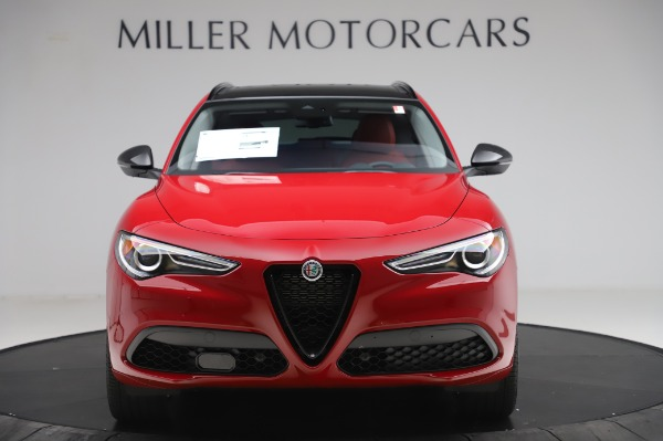 New 2020 Alfa Romeo Stelvio Sport Q4 for sale $50,195 at Bentley Greenwich in Greenwich CT 06830 12