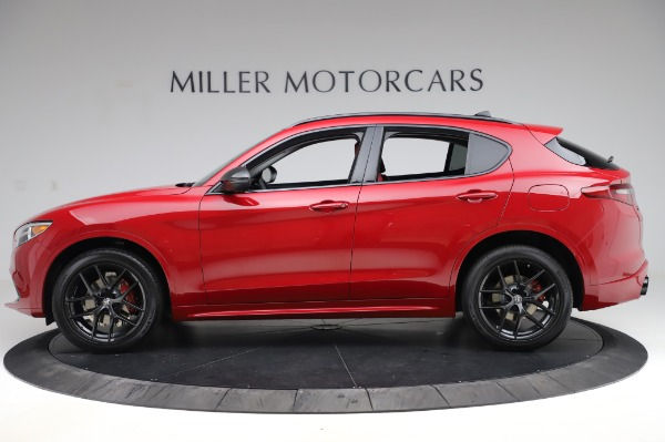 New 2020 Alfa Romeo Stelvio Sport Q4 for sale $50,195 at Bentley Greenwich in Greenwich CT 06830 3