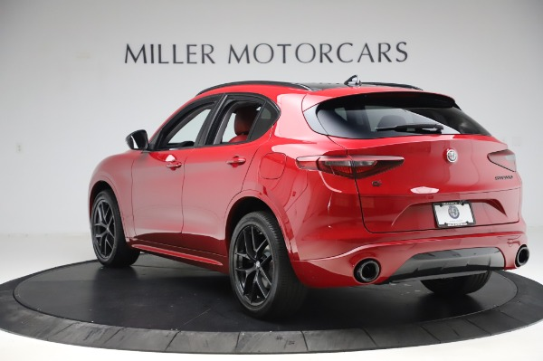New 2020 Alfa Romeo Stelvio Sport Q4 for sale $50,195 at Bentley Greenwich in Greenwich CT 06830 5