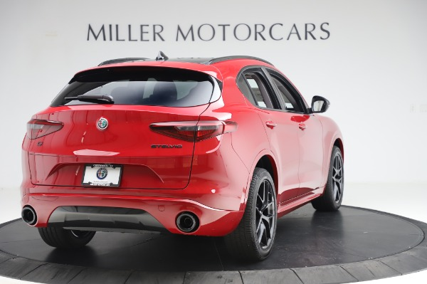 New 2020 Alfa Romeo Stelvio Sport Q4 for sale $50,195 at Bentley Greenwich in Greenwich CT 06830 7
