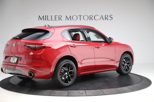 New 2020 Alfa Romeo Stelvio Sport Q4 for sale $50,195 at Bentley Greenwich in Greenwich CT 06830 8