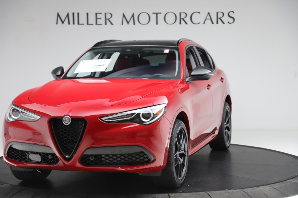 New 2020 Alfa Romeo Stelvio Sport Q4 for sale $50,195 at Bentley Greenwich in Greenwich CT 06830 1